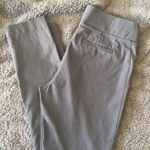 Apt. 9 Gray Ankle Dress Pants